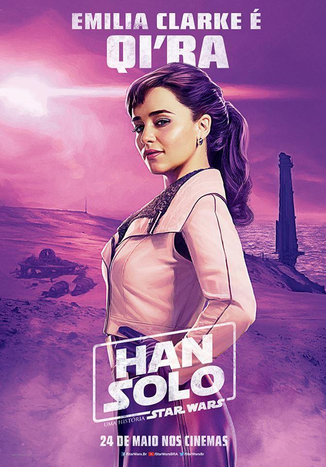 Emilia Clarke jako Qi'Ra