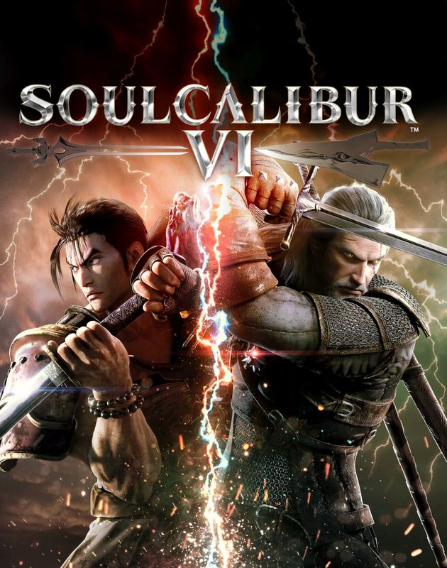 Geralt na okładce Soul Calibur VI