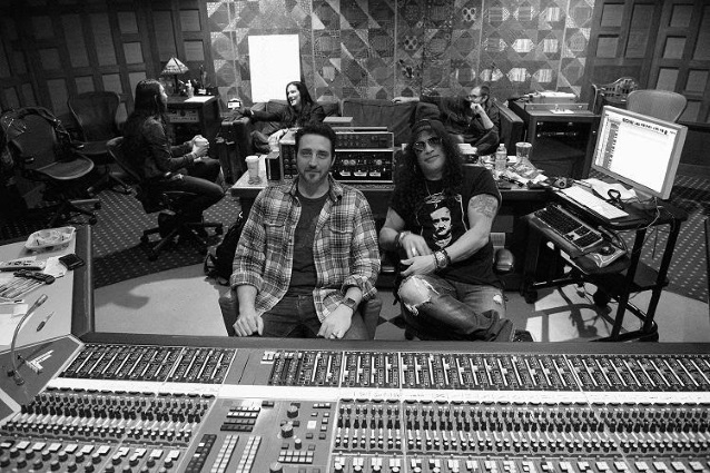 Slash w Studiu