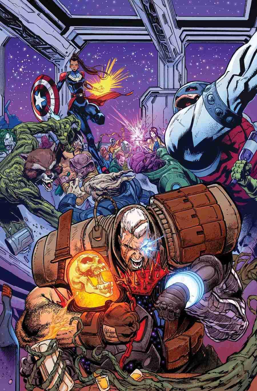 okładka komiksu Cosmic Ghost Rider #3
