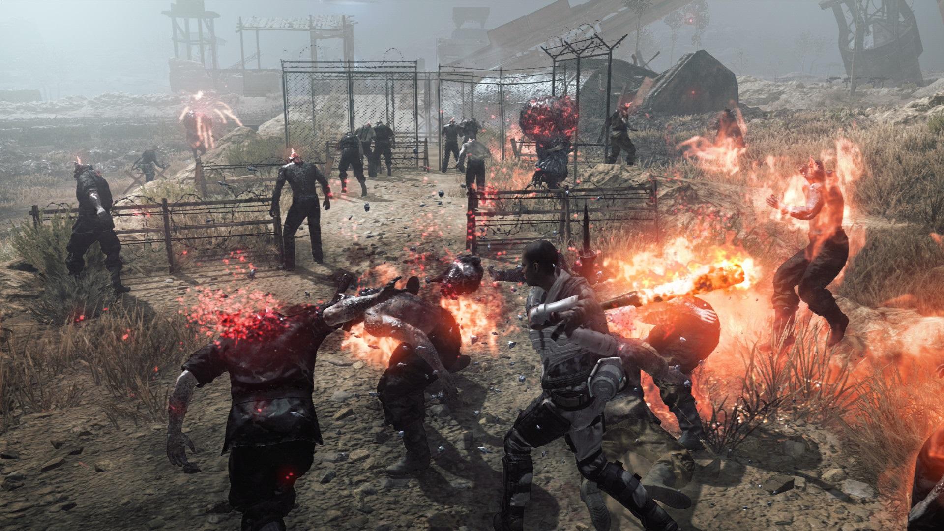 Metal Gear Survive - wygląd gameplay