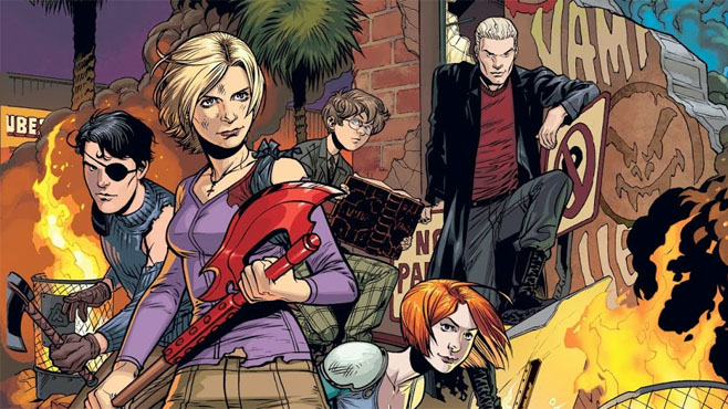 okładka komiksu Buffy season 10.