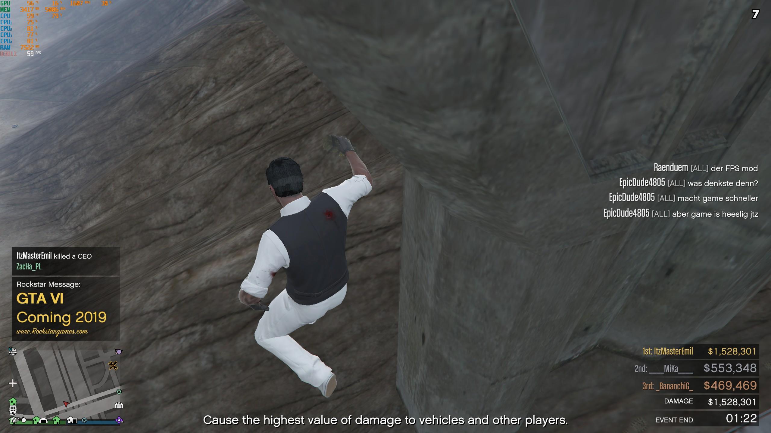 Screen z GTA Online