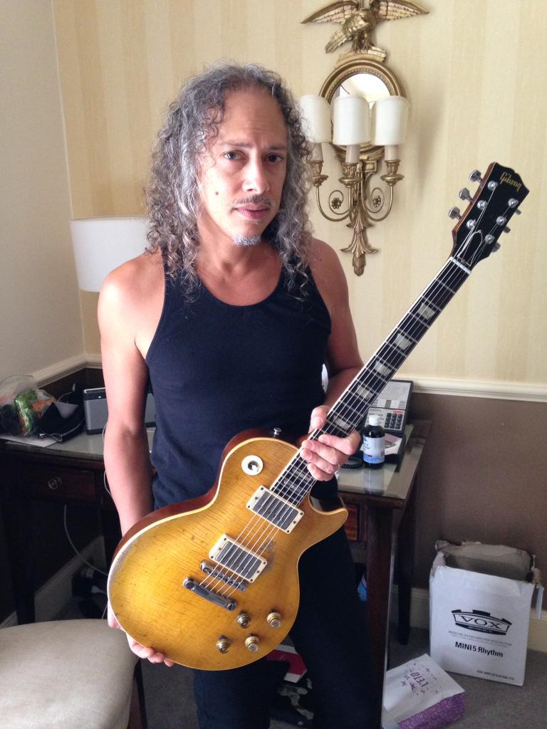 Gary moore Kirk Hammettt