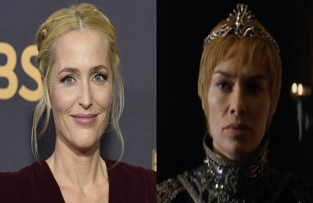 Gillian Anderson / Lena Headey jako Cersei Lannister, foto: Jordan Strauss/Invision/AP/East News