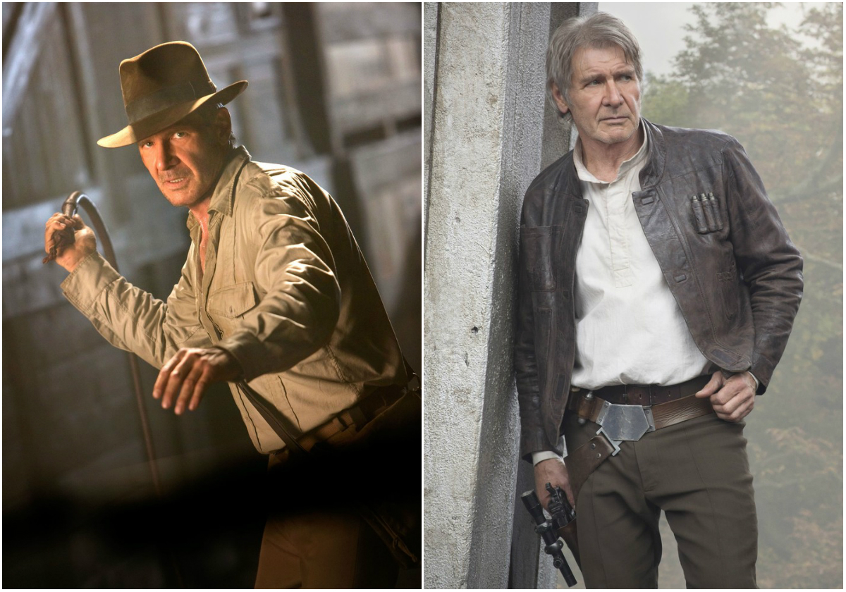 Harrison Ford Indiana Jones Han Solo