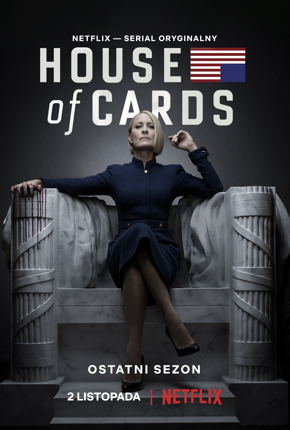 House of Cards 6 plakat
