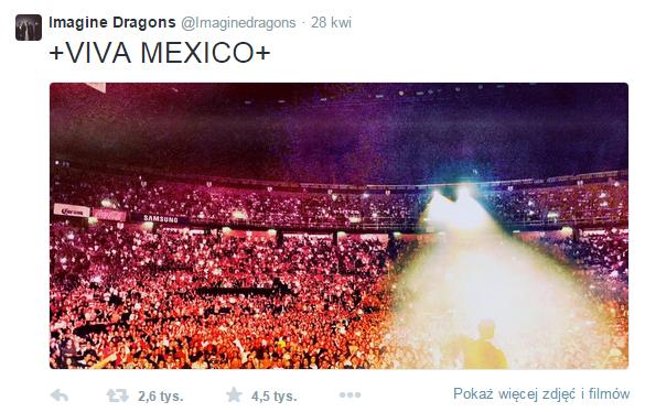 Imagine Dragons Twitter