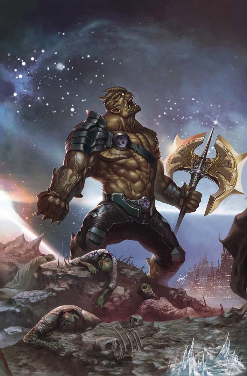 Okładka komiksu Infinity #2