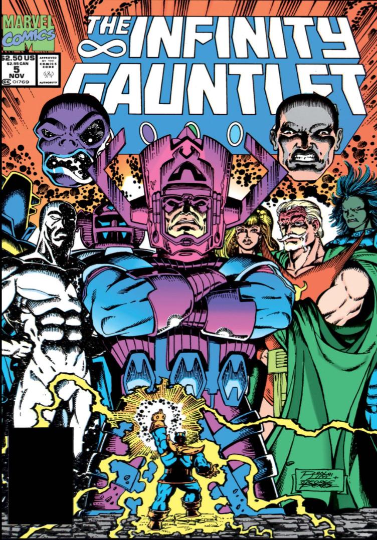 Infinity Gauntlet #5 - okładka