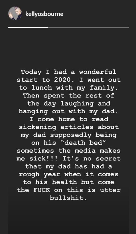 Instagram/Kelly Osbourne