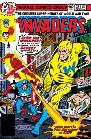 Invaders vol. 1 #35 - okładka