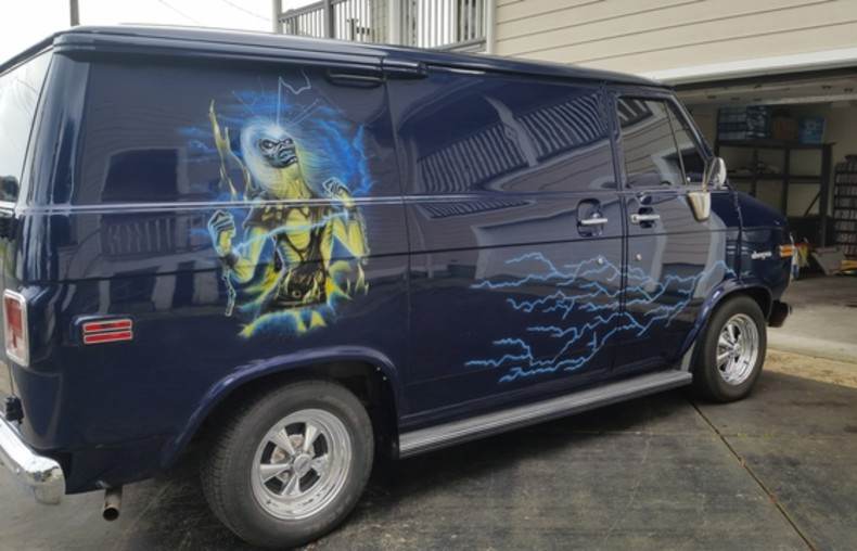 Iron Maiden Van 1/15