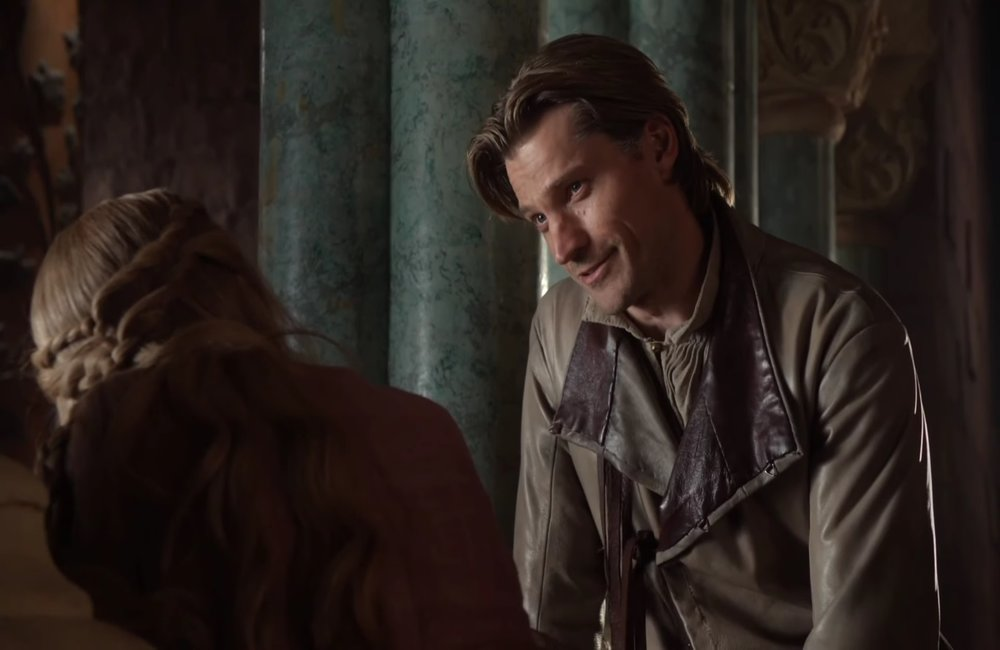 """Jaime i Cersei w pilocie serialu, foto: kadr z serialu """"Gra o tron"""""""
