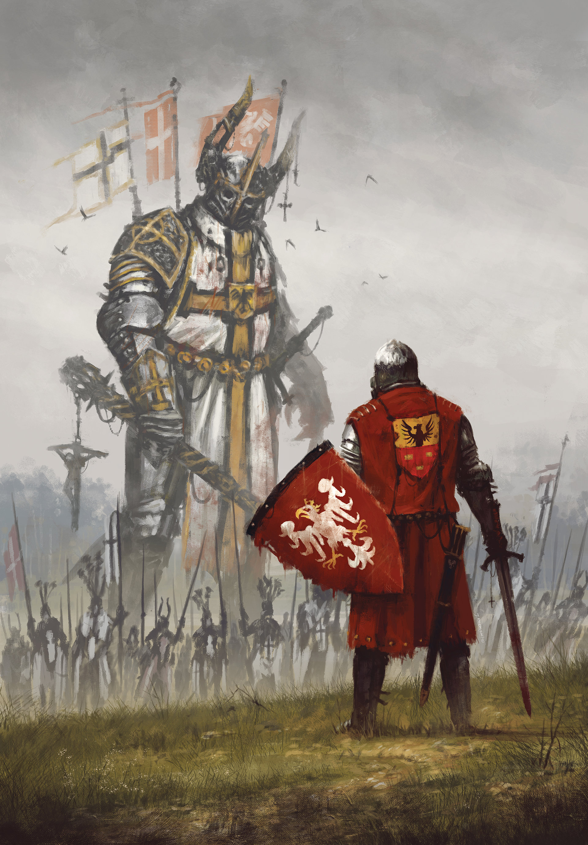 "Jakub Różalski ""1410"""