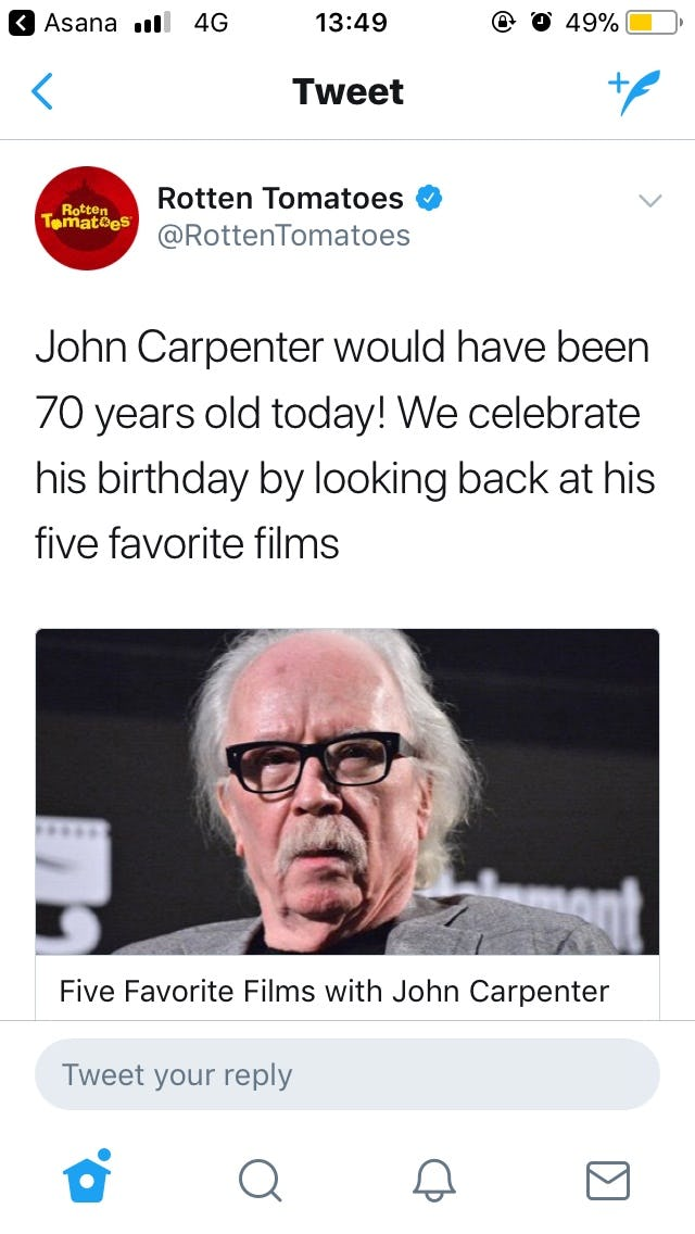 John-Carpenter-dead-Rotten-Tomatoes
