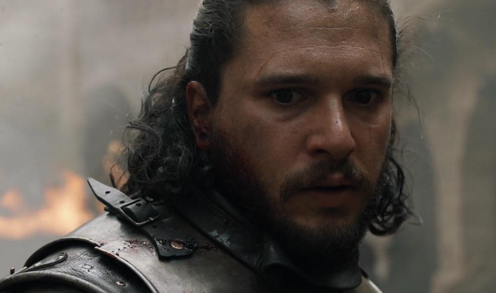 """Jon Snow, foto: kadr z 5. odcinka 8. sezonu """"Gry o tron"""""""