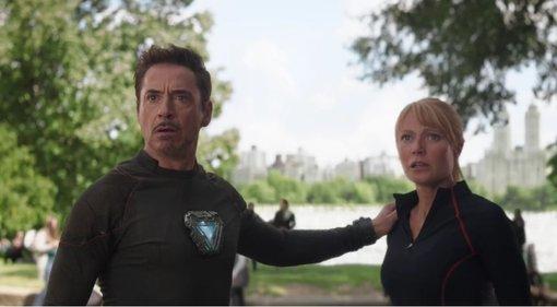 "Kadr z filmy ""Avengers: Infinity War"""