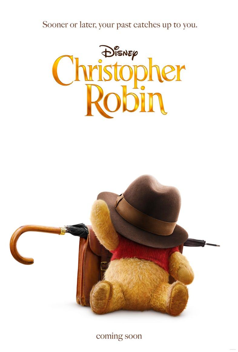 plakat do filmu Christopher Robin