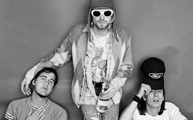 Kurt Cobain sweter