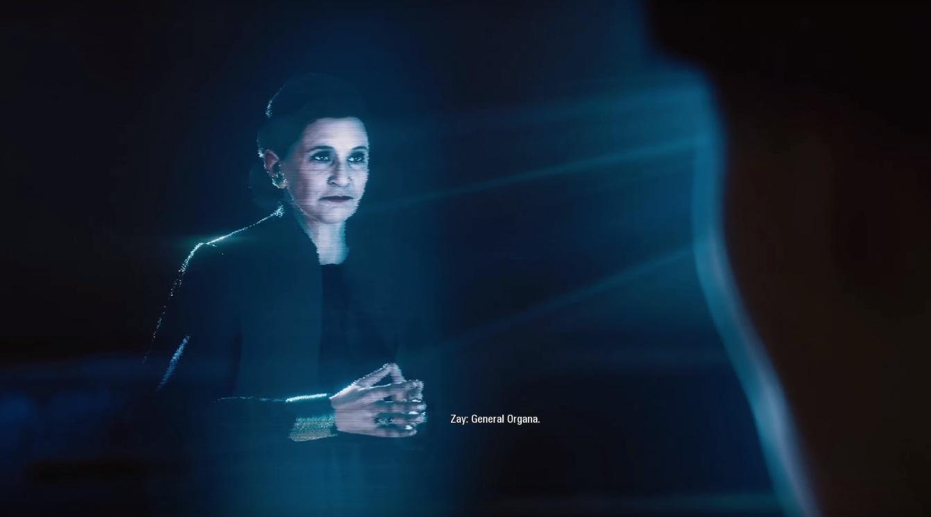 Leia z gry komputerowej