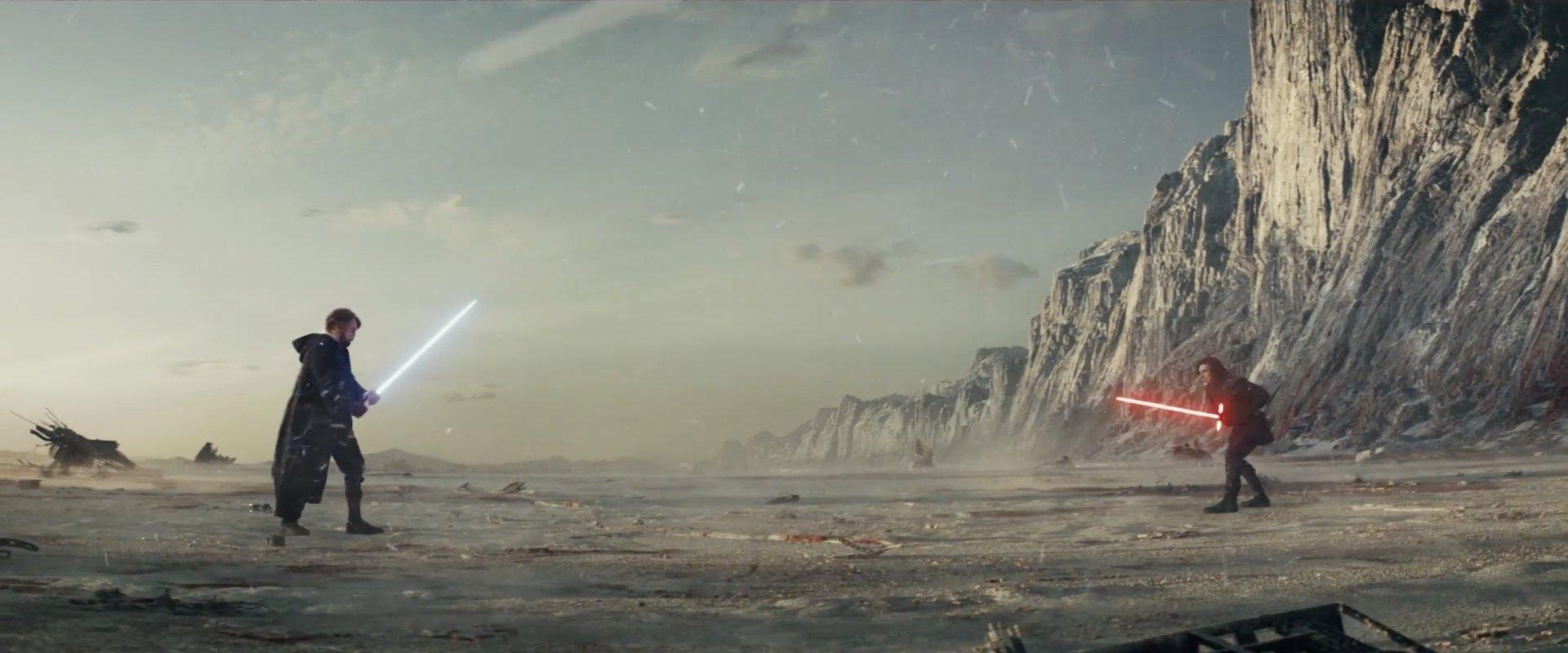 Luke Skywalker kontra Kylo Ren