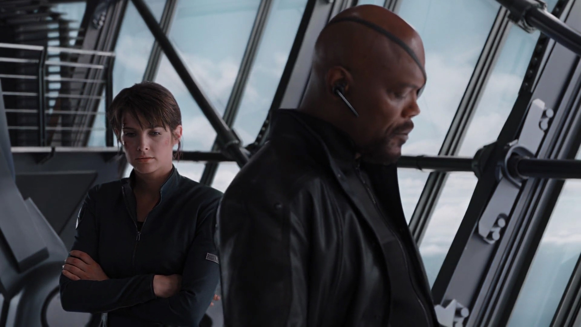 Nick Fury Maria Hill Avengers