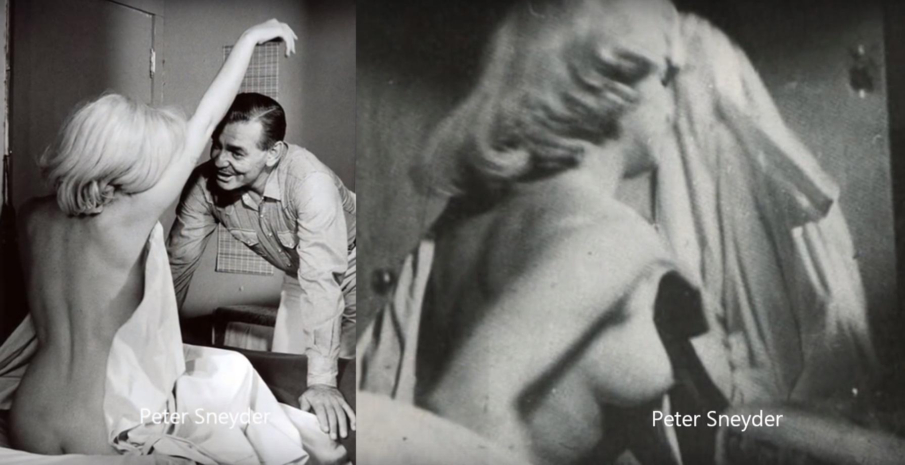 Marilyn Monroe nago