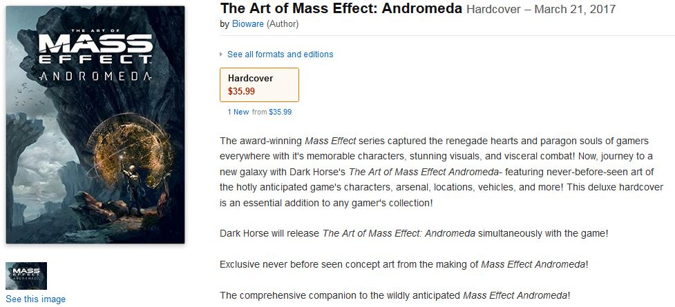 mass effect andromeda book