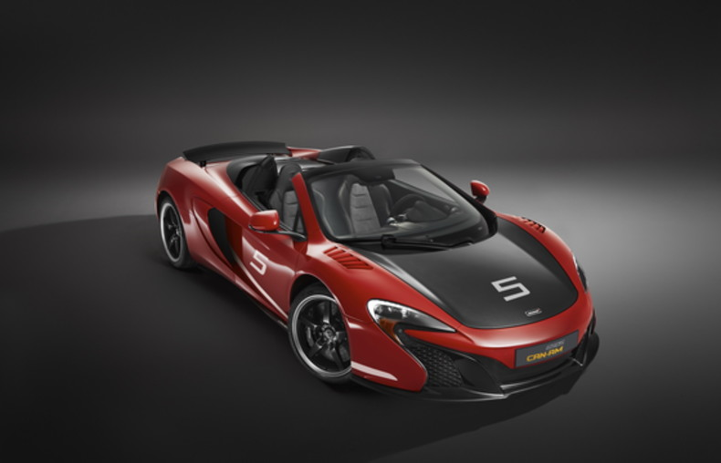 McLaren 650 S Spider Can-Am 1/10