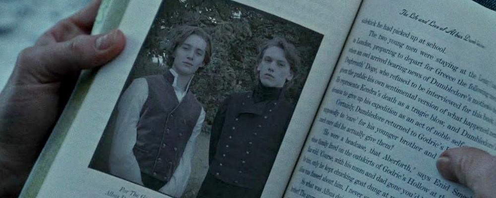 Młodzi Dumbledore i Grindelwald