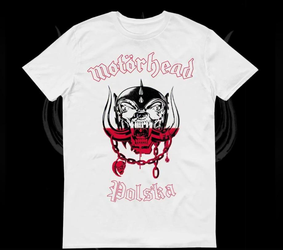47eaddf5a Mundial 2018: Motörhead sprzedaje koszulkę Polski - Antyradio.pl