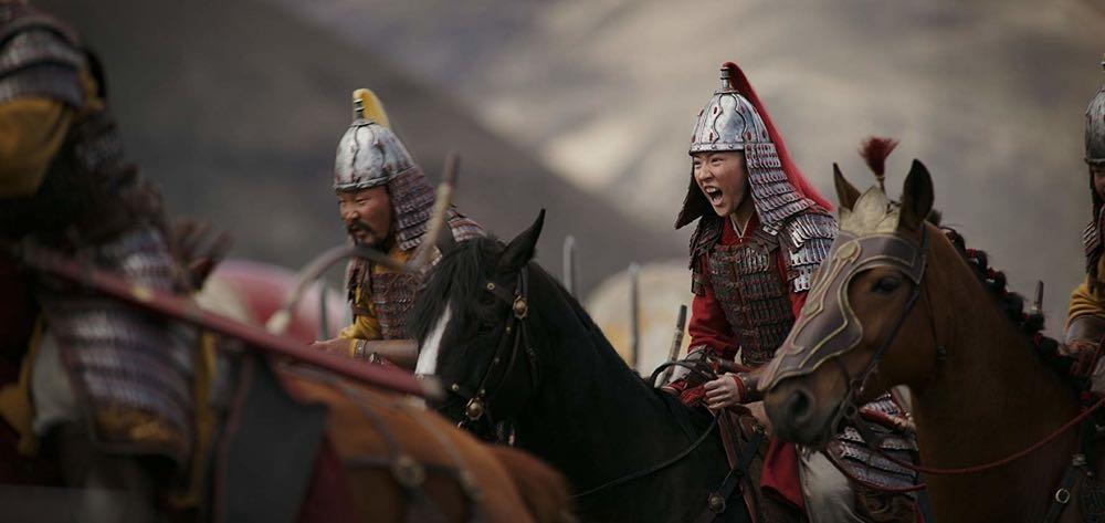 Mulan - w biegu