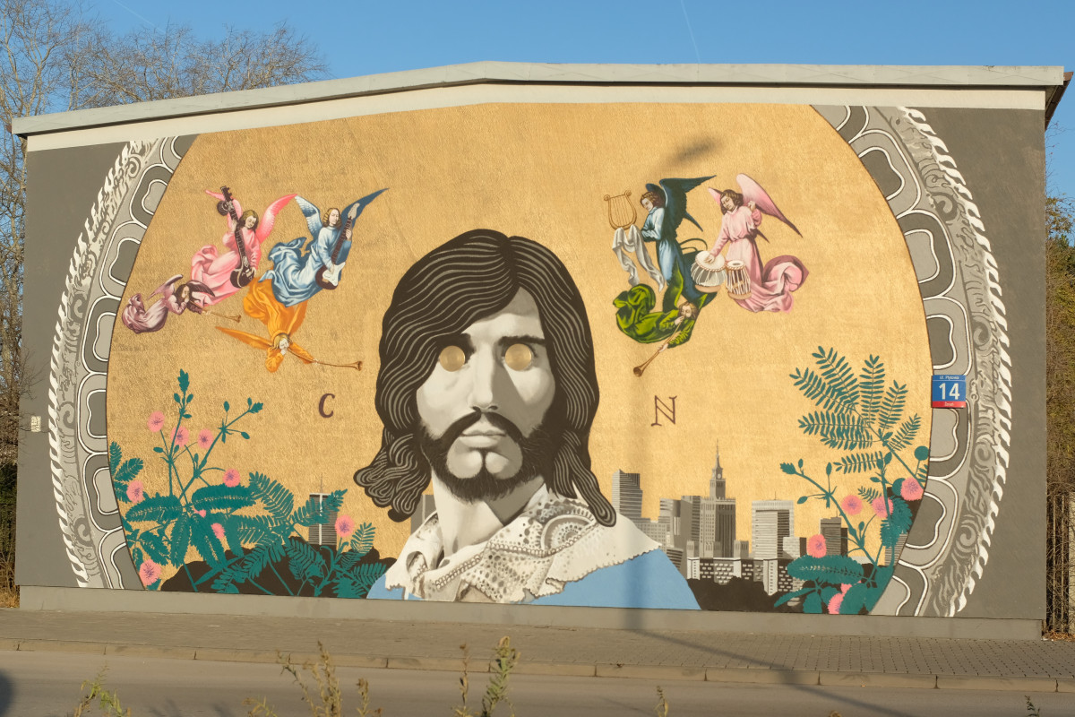 Mural Czesław Niemen