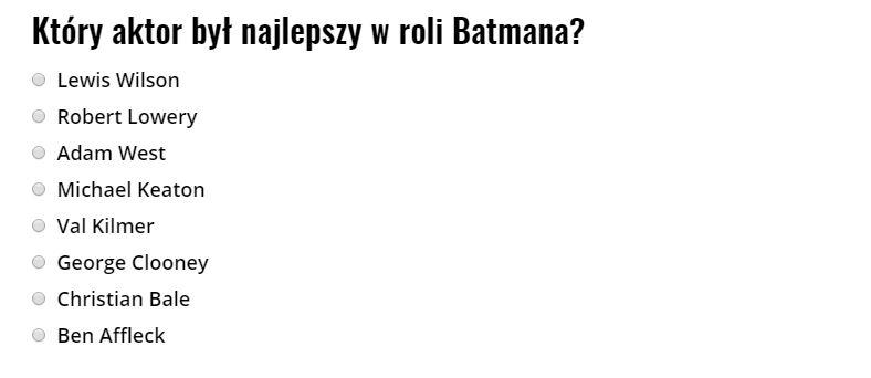 Kto był najlepszym Batmanem?