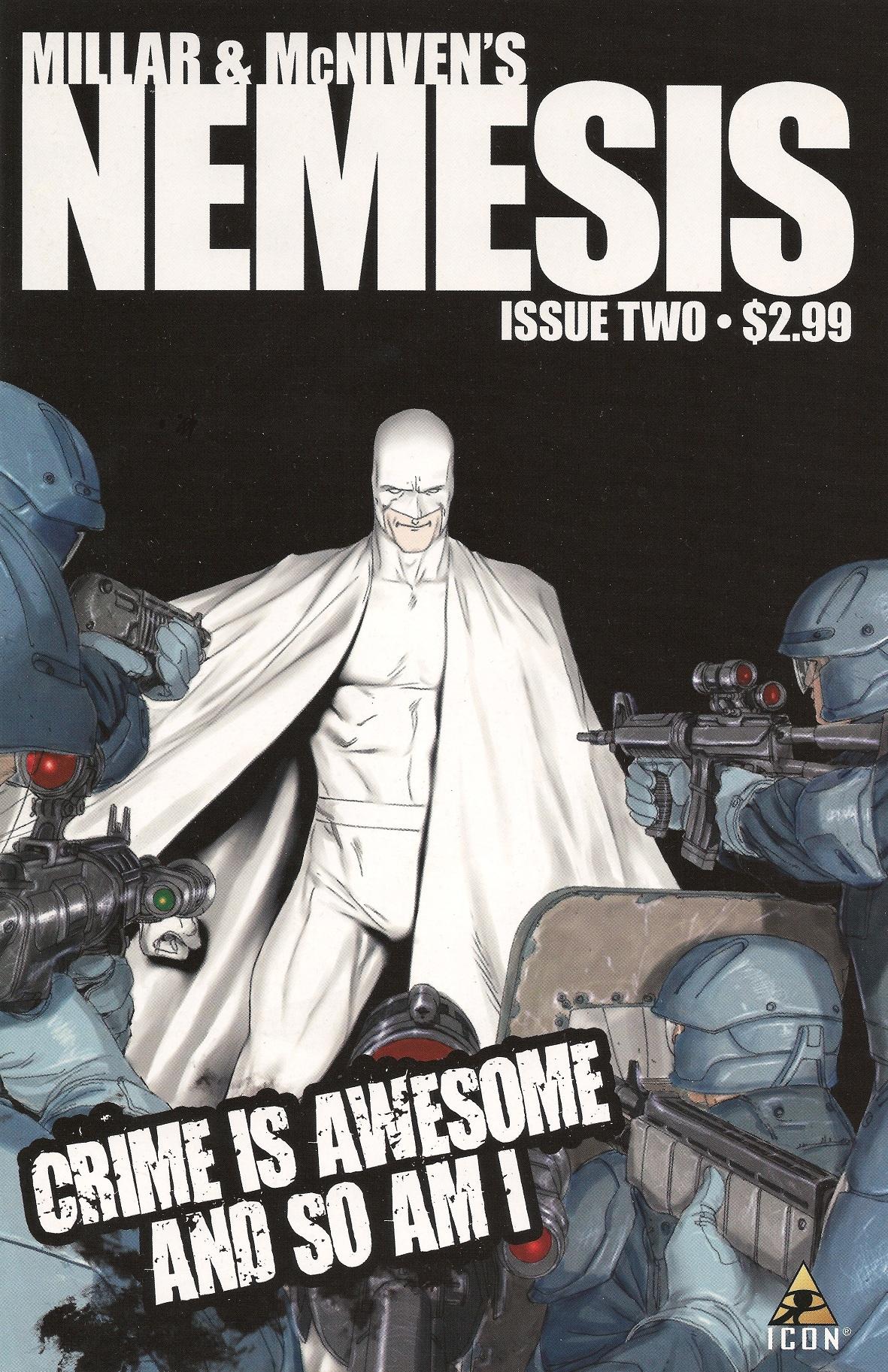 Nemesis #2 - okładka