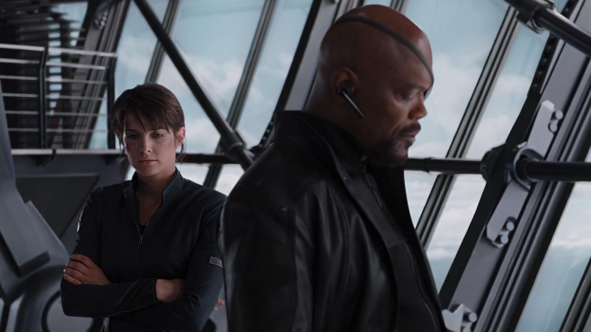Nick Fury i Maria Hill