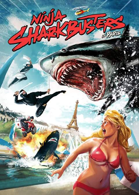Ninja Sharkbusters in Paris