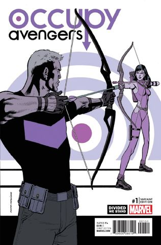Occupy Avengers vol. 1 #1