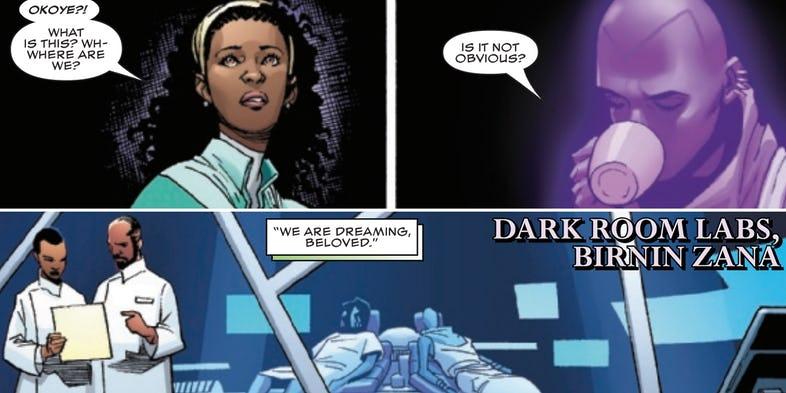 Okoye w komiksie Black Panther #171