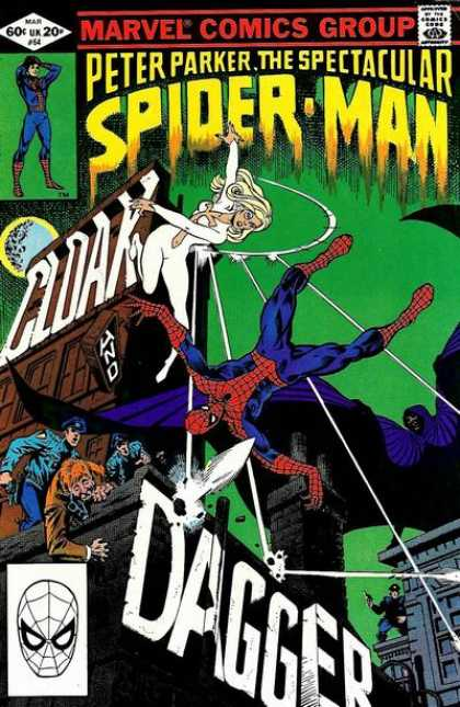 Peter Parker, the Spectacular Spider-Man #64 - okładka