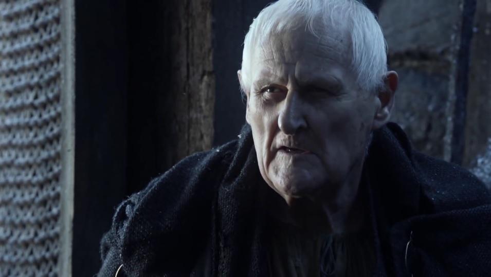"""Peter Vaughan jako maester Aemon w """"Grze o tron"""", foto: Kadr z serialu"""
