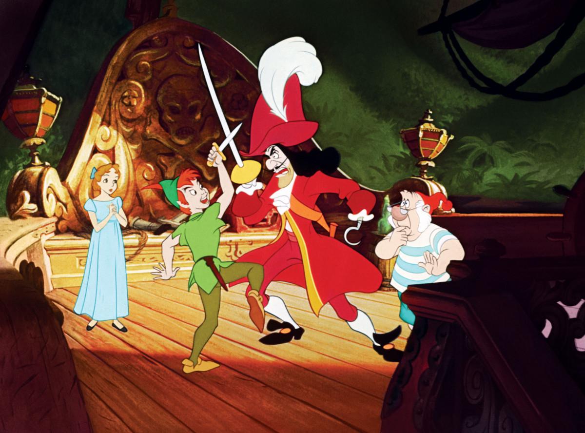 Piotruś Pan - Disney - kadr z filmu