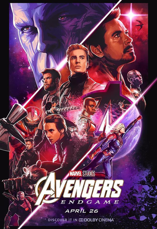 "plakat ""Avengers: Endgame"", foto: materiały prasowe"