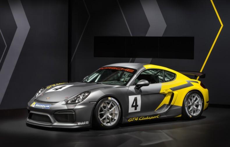 Porsche Cayman GT4 Clubsport 1/10