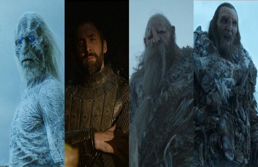 """postacie, w które wcielił się Ian Whyte, foto: kady z serialu """"Gra o tron"""""""