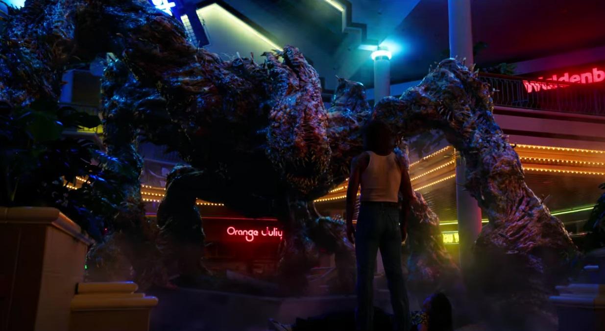 potwór ze Stranger Things 3