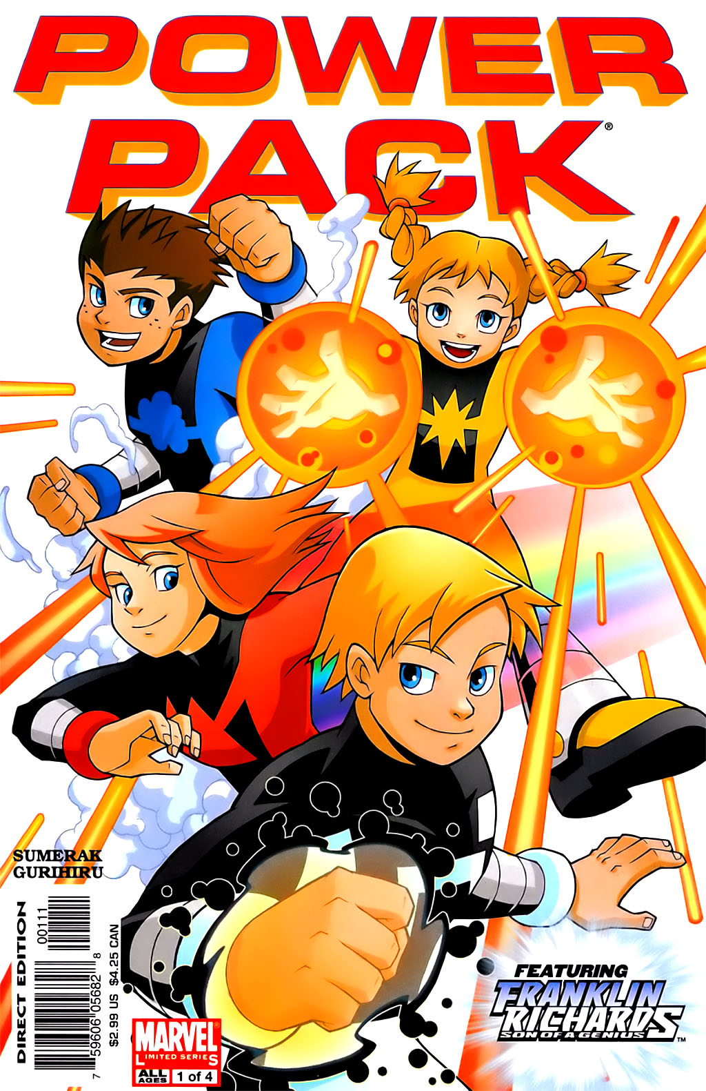 Power Pack vol. 3 #1