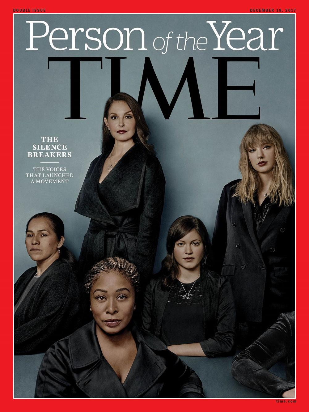 kobiety które przerwały milczenie na okładce magazynu Time