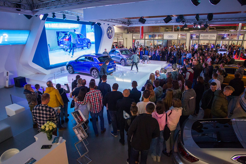 Premiera Volkswagena T-Roc